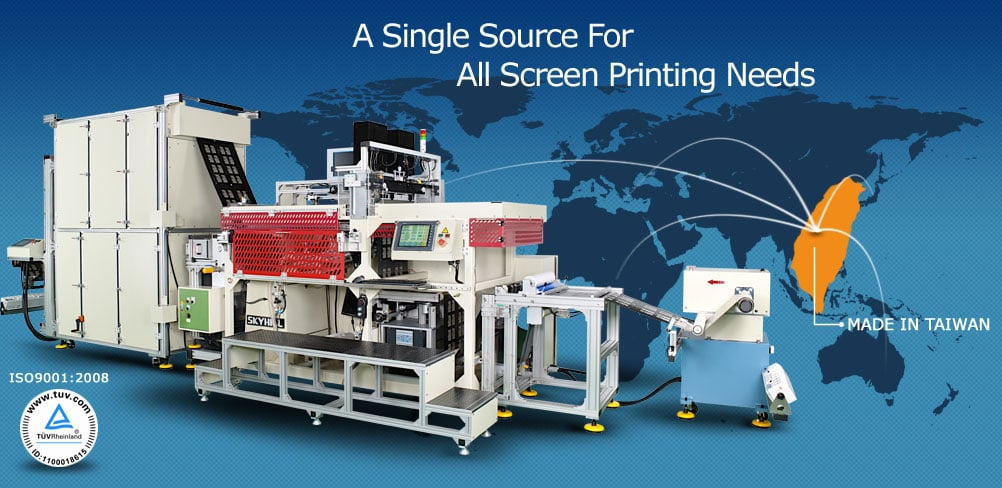 Screen Printing Machine Manufacturers