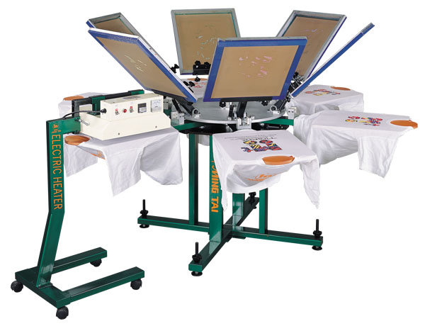 T-shirts Printing Equipment & Machines - Ming Tai Printer
