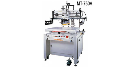 Large-Format Pneumatic Flat Screen Printing Machine - MT-750A / 1200A